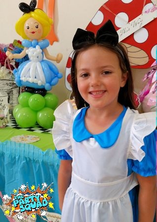 Alice at Mad Hatter's Tea Party