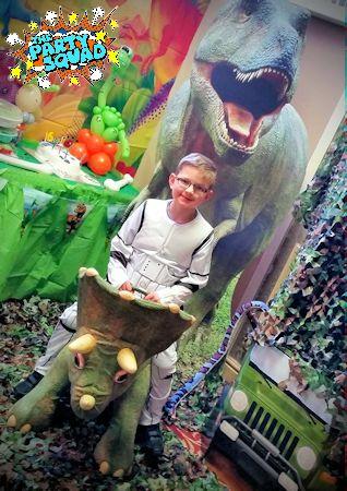 Dino Roarrr Adventures Themed Party