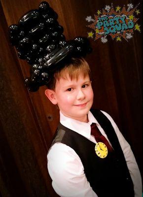 Looking Dapper in a Balloon Top Hat