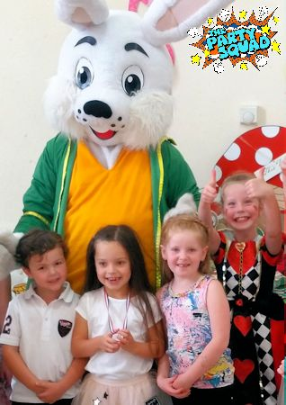 White Rabbit makes appearance at Mad Hatter's Tea Party
